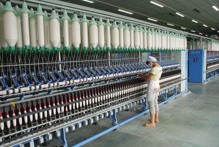 玉兰公司扩建6万纱锭建设项目