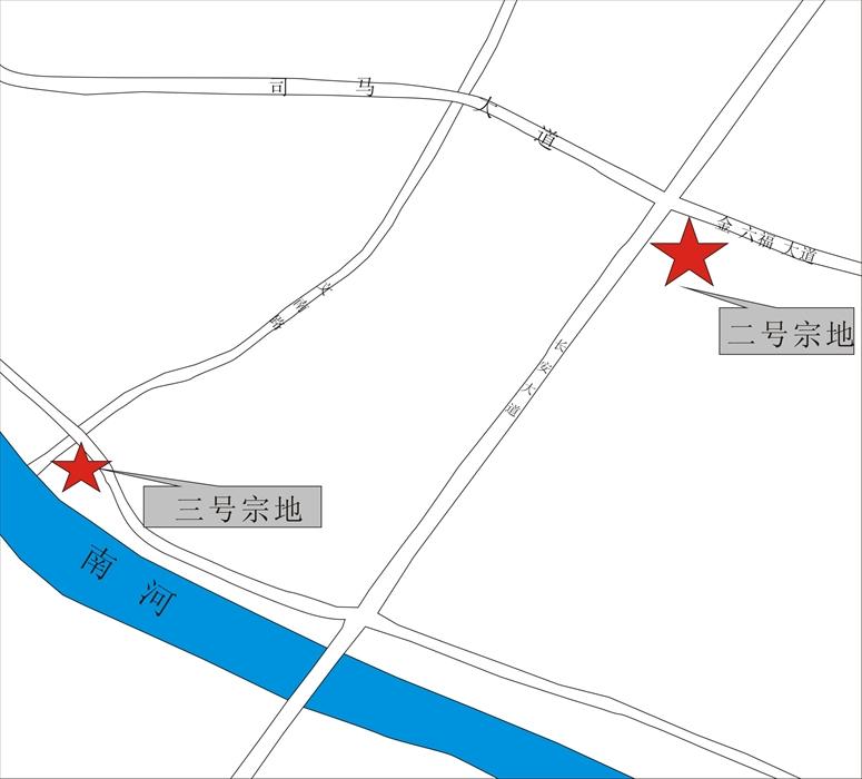 邛崃市临邛镇318国道东侧、职教中心西南侧、质检中心南侧