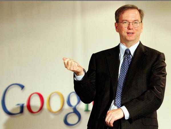 谷歌前CEO施密特:人人都需要一个教练