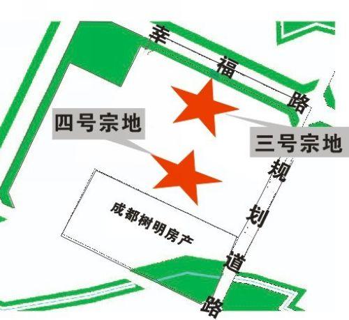 龙泉驿区同安街办规划道路以西、成都树明房产以北