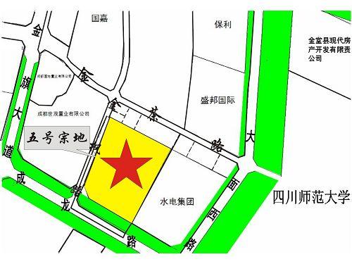 龙泉驿区大面街道成龙路以北、金枫路以东