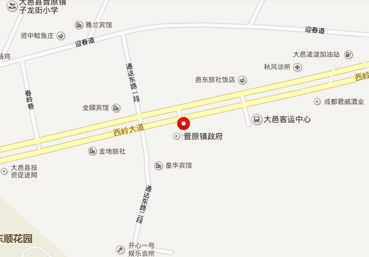 大邑县晋原镇新城南区(斜江村5、6、7、8组和村集体)
