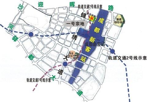 东客站片区及都江堰幸福镇2地块拍卖