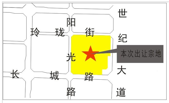 崇州市城区一地块拍卖