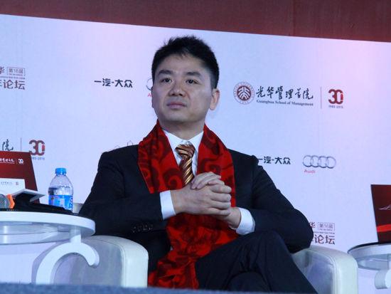 刘强东:猪摔下来死得更快