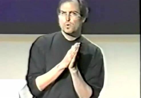 20年前乔布斯的一次内部讲话