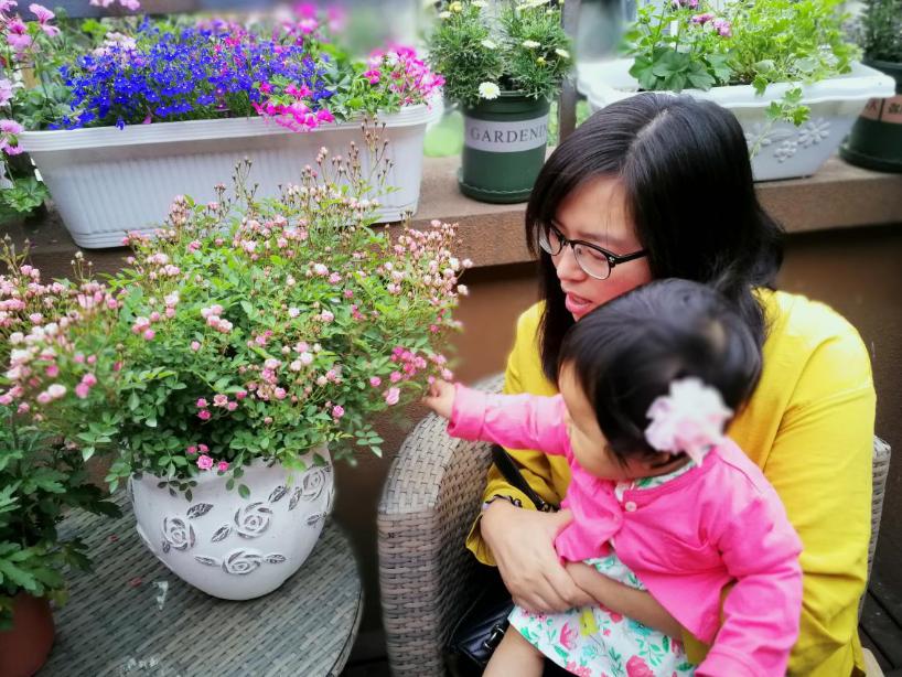 潮视频社交,温江花园阳台邻里周有点火!