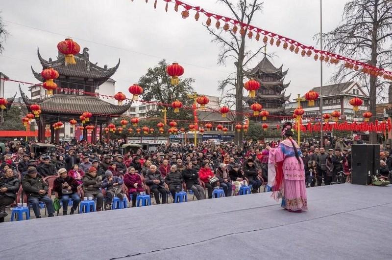 """""""过节耍成都·到温江"""" 春节黄金周共78万人游温江"""