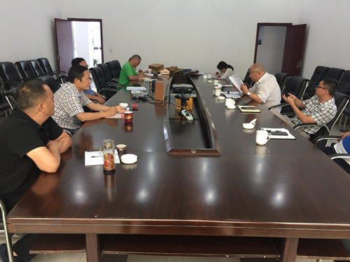 温江区发展和改革局党委指导支部党建工作