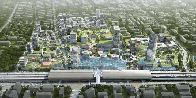 """四川首个高铁TOD项目规划开标 铁路建设综合土地开发迈出""""试点""""实质步伐"""