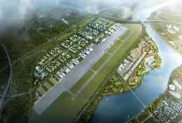 """布局""""两轴三园"""",打造通航+产业体系,淮州新城通航产业片区设计草案今起公示"""