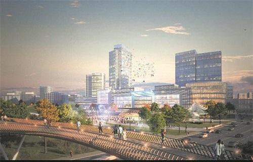 两轴+三片 未来+科技 这就是成都未来科技城