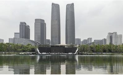 水上观众席首秀!中国美好生活城市发布晚会将在成都交子公园上演