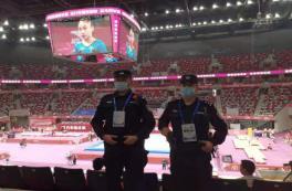 每天从早到晚都在现场检查!大运会执委会安保部出色完成体操全锦赛任务